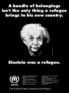Love this, I think it should be easier to immigrate and we should allow refugee status in the US