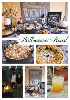 Halloweenie Roast (Hosting a Halloween Party)