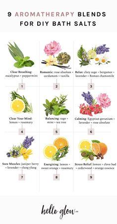 Diy Beauté, Diy Spa, Spiritual Bath, Bath Recipes, Bath Tea, Aromatherapy Oils, Herbal Magic, Essential Oil Blends, Essential Oils