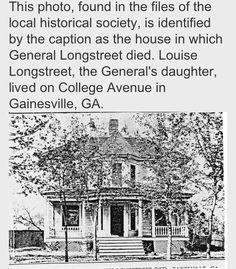 . James Longstreet, American Civil War, Historical Society, The Locals, Biography, Genealogy, Warriors, Georgia, Southern