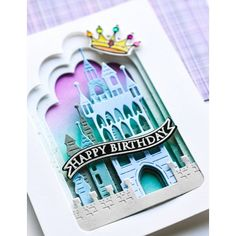 Memory Box Stanzschablone - Stone Keep Castle Collage Memories Box, Big Shot, Craft Stash, Collage, Fantasy Castle, Metal Crafts, Embossing Folder, Clear Stamps, Journal Cards