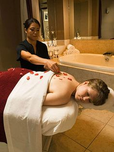 One of our massage therapy rooms at our Stonedrift Spa is a favorite place to rejuvenate your body, mind, and spirit.