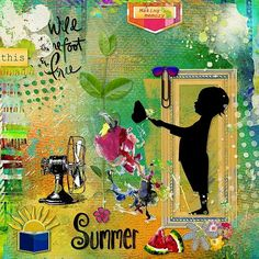 Good Ole Summertime by Altered Amanda's Studio Template by Studio Courtney Designs
