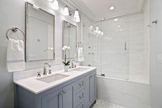 Design Roundup: Bathroom Sconces (elements of style) Bathroom Kids, Small Bathroom, Master Bathroom, Best Bathroom Colors, Bathroom Paint Colors, Bathroom Scones, Bathroom Light Fixtures, Plumbing Fixtures, Bathroom Lighting