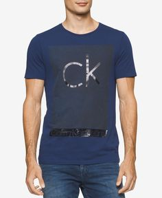 0245ea2d7 Calvin Klein Men's Sunshine Logo T-Shirt & Reviews - T-Shirts - Men - Macy's