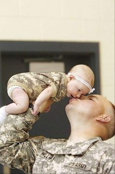 """She will treasure this photo her entire life!"" I'm sure she will see this picture at her wedding. - MilitaryAvenue.com"