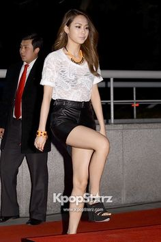 miss A\'s Fei Attends InStyle Korea\'s Tenth Anniversary Event