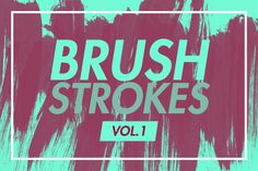 Brush Strokes v1 by Esquivel Type Foundry on @creativework247