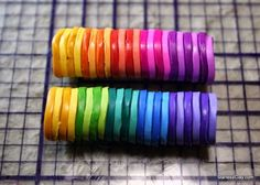 extruder ready discs - use of lighter colors in between instead of black and white alternating
