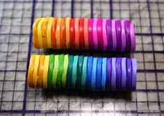 Layering colors
