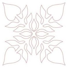Hawaiian Protea Flowers Quilt Designs | Quilt Blocks | Embroidery Delight | Your source for all embroidery ...