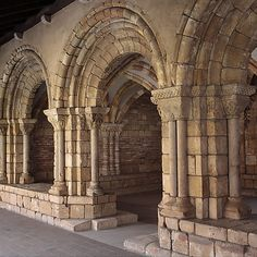 Chapter House from Notre-Dame-de-Pontaut, 12th century. French. The Metropolitan Museum of Art, New York. The Cloisters Collection, 1935 (35.50) #Cloisters