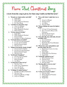7 Best Images of Christmas Printable Trivia With Answers - Christmas Movie Trivia Printable, Printable Christmas Song Trivia and Free Printable Christmas Games Trivia and Answers Xmas Games, Holiday Games, Holiday Fun, Holiday Trivia, Christmas Family Games, Fun Family Christmas Games, Christmas Party Games For Adults, Christmas Activities For Families, Advent Games