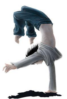 L and Capoeira 1 by Myrrha-Silvenia.deviantart.com on @deviantART