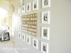 Using $2 frames from Ikea!!!  I will so be doing this...thanks for the inspiration...and tutorial!