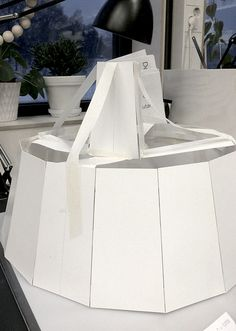 Cardboard models | Woodlights | ateljé Lyktan