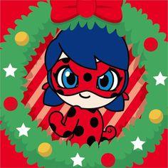 Miraculous Ladybug Christmas, Jeremy Zag, Merry Christmas, Xmas, Hawk Moth, Cute Girl Drawing, Marinette And Adrien, Miraclous Ladybug, Chibi