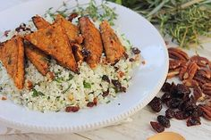 Maple thyme tempeh...why its better than tofu!