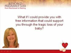 Beyond Pregnancy Loss - Healing  Hint 1 of 7
