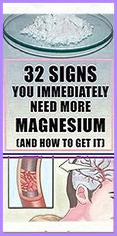 32 Signs You Immediately Need More Magnesium (And How To Get It) – Herbal Medicine Book Medicine Book, Herbal Medicine, Healthy Skin Care, Healthy Tips, Healthy Food, Stay Healthy, Holistic Remedies, Health Remedies, Natural Cures