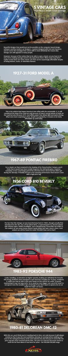 If you are into classic or vintage vehicles, you would surely love these fascinating vintage cars. Don't worry though, these won't make you broke, for they are affordable despite of being historic and iconic. #carrepair #carservicingsingapore #cargroomingsingapore #carpolishingsingapore