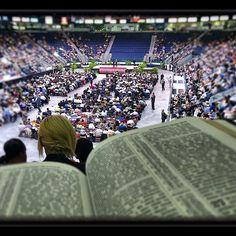District Convention..I love how the Bible was also captured in this photo ♥