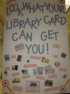 Your Library Card display by ChampaignCoLibrary, via Flickr