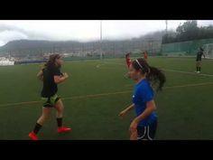 Sesion de entrenamiento tecnico futbol femenino