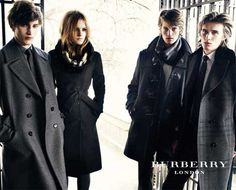 Emma Watson and Burberry. Two great things that go great together!