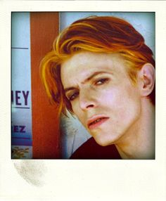 """David that hair i think is one of my faves of his because it was around 1976 when """"the man who fell to earth came out"""""""