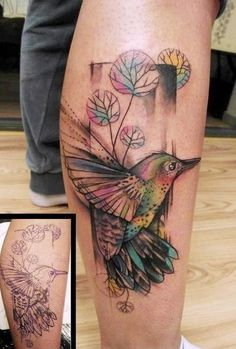 Love this tattoo style