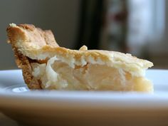 apple pie sweetened w/ honey. almond flour crust.
