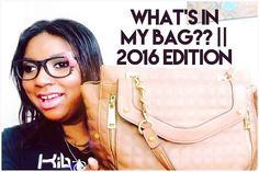 WHAT'S IN MY BAG??    2016 EDITION