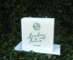 #Hochzeitskerze   #kerze #hochzeit #wedding #candle Place Cards, Place Card Holders, Wedding Day