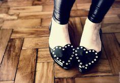 Vivienne Westwood's Melissas : Heart Shoes .•´ ♥ `•.