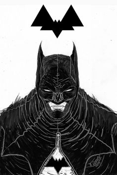 Batman by Rafael Grampá. I wonder what that zipper zips. Comic Book Artists, Comic Book Characters, Comic Character, Comic Books Art, Comic Art, Movies Costumes, Rafael Albuquerque, Batman Redesign, Batman Kunst