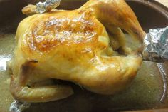 Jak upéct šťavnaté kuře (předem naložené) | recept