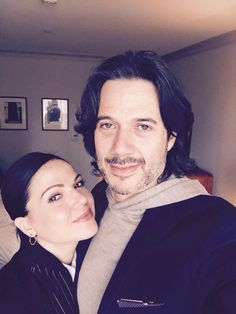 @fred_diblasio: Me and my gal, @LanaParrilla at the always awesome @cfccreates #CFCBBQ @s_macdonald