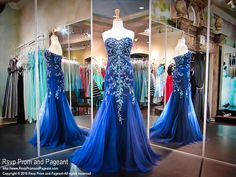 Peacock Completely Beaded Mermaid Evening Gown-Strapless-Sweetheart-116EC0162460