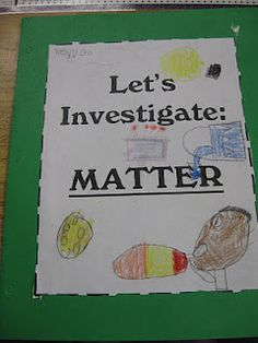 Third Grade Thinkers: Matter: Make and Take Study Guides