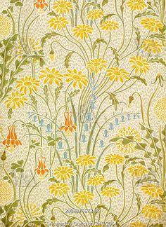 Meadow Flowers, by Walter Crane. England, 1896