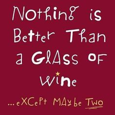 Especially if it's a glass of Unum!