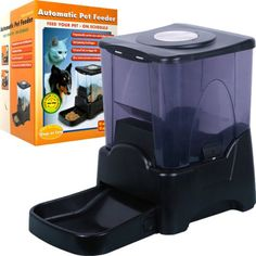 Trademark Poker 80-OS297 PAWT Large Capacity Automatic Pet Feeder - Programmable - http://www.thepuppy.org/trademark-poker-80-os297-pawt-large-capacity-automatic-pet-feeder-programmable/