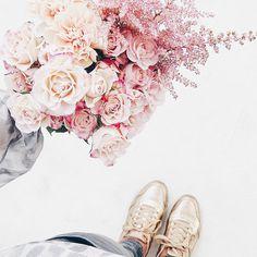 Auf der Mammilade|n-Seite des Lebens | Personal Lifestyle Blog | workshop | sisterMAG loves CEWE | blogger event | candy colors | Blumen | Blumenstrauß | Rosen | Nelken | Pastell | Rosé Quarz