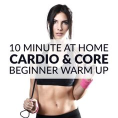 Cardio & Core Beginner Workout Routine For Women