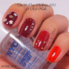 01. Red Nails