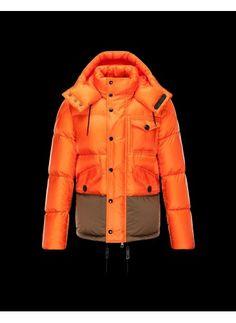 Moncler Chamonix Jacket Men Orange - Moncler #moncler #jackets #men