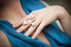 Lotus Blossom Ringmade to your size by moiraklime on Etsy, $100.00