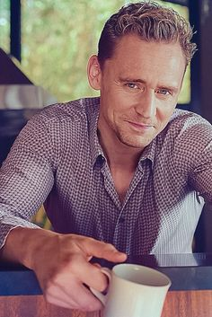Tom Hiddleston - Esquire Magazine. I swear, I love every line on this man's face.