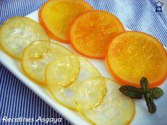 RECETINES ASGAYA: Naranja y Limón Confitados